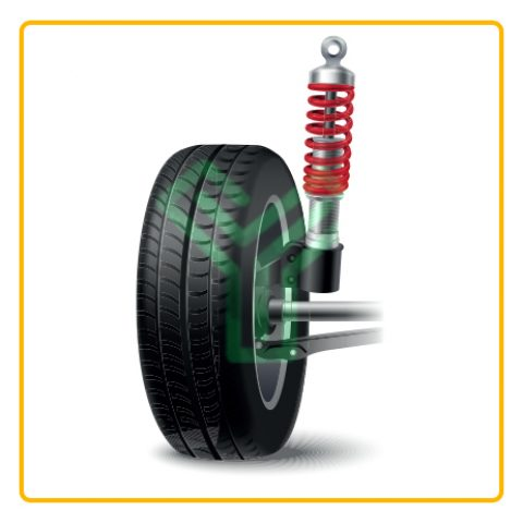 Vehicle springs-Shock absorber